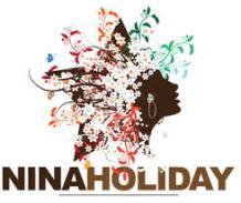 nina holiday logo